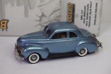 BROOKLIN BRK 18 MERCURY 99-A SEDAN COUPE 1939 BLUE POLY 1/43