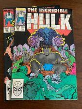 New listing Incredible Hulk #351 - 352 (1989, Marvel) Lot Of 2 Vf+s