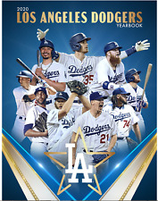 2020 LOS ANGELES DODGERS OFFICIAL YEARBOOK BELLINGER BETTS BUEHLER KERSHAW NEW