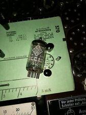 Telefunken ECC 83 E-Röhre 2,0/2,4 mA Raute Tube auf Funke W19 geprüft BL1519