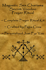 Magnetic Sex Charisma Voodoo Prayer Ritual Kit Sexual Power Attraction Control