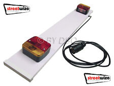 Streetwize 3ft Trailer Board with 3m Cable  UK STOCK FREE POSTAGE