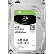 Seagate BarraCuda 2TB, ST2000DM008 interne Festplatte 3,5 Zoll 256MB Cache SATA3