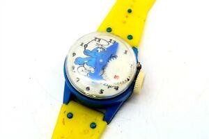 Vintage 1981 SMURFS / PEYO Toy Watch by Durham Industries No 4022