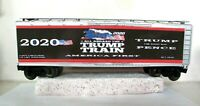 O SCALE (3 RAIL) CUSTOM LETTERED TRUMP TRAIN 2020 COLLECTIBLE REEFER LOT T