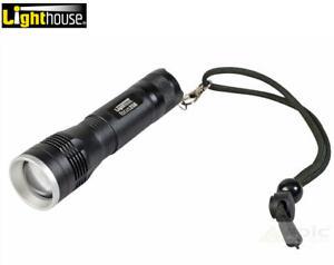 Lighthouse Elite L/HEFOC350L High Performance LED Focus Control Torch 350 Lumens