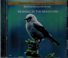 MORNING IN THE MOUNTAINS - BEAUTIFUL SOUNDS OF NATURE - MINT  CD