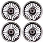 "NEW 8"" Inch Golf Cart Wheel Covers Hub Caps Wheel Cover Turbine SET OF 4 EzGo"