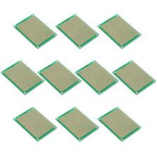 10 x Breadboard Experimental Boards PCB Strip Grid 5 x 7 cm LW