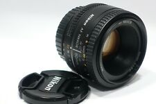 Nikon Nikkor AF-D 50mm 1:1.8D lens, fits F6 D5 D600 D7100 Df D800 D7200 camera
