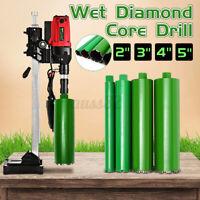 2''/3''/4''/5''Set Wet Diamond Core Drill Bit For Concrete Premium Brick Drill