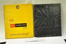 """Kodak 10x12"""" #8 (Dark Yellow) safelight filter. New old stock"""