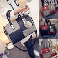 Women Leather Shoulder Bag Tote Messenger Crossbody Satchel Handbag Purse Bags