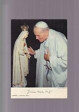 FOTOGRAFIA GIOVANNI PAOLO II  1984 madonna foto di Mari