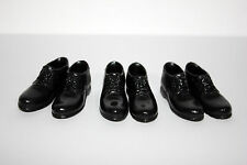 FT035 1/6 Action Figure 3 PAIR OF DRESS SHOES - Fits Hot Toys/TTL etc. Male body