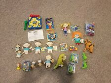 Rugrats Bundle-25 PC. Electronic game,  Plush & Plastic Toys, CD ROM Game, Video