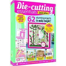 DIE-CUTTING ESSENTIALS SPECIAL EDITION ISSUE 5 MAGAZINE FREE CRAFT KIT WORTH £40