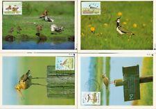 Nederland Maximumkaart(en) R71-74 W afgestempeld op 1e dag van uitgifte 1984