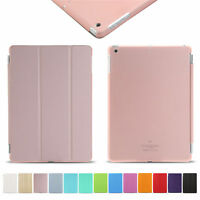 2016 Magnetic Leather Lot Smart Case Stand Cover For Apple iPad 234/Mini/Air/Pro