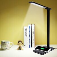 180° Rotating Flexible Reading Light Desk Table Lamp Eye Protect Bedside Torch