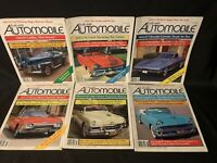 Collectible Automobile Magazine lot 1990 Feb Aug Dec June Feb Oct Corvette Prix