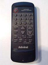 Admiral T.V. Remote Control - Model 076R074040
