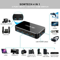 Support HDCP HD 4K 60 HZ HDMI 4 Cut 1 With Audio Separation HDMI 2.0 Switcher