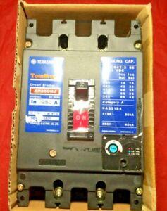 TERASAKI TEMBREAK XH250NJ Circuit Breaker 3 Pole / 690VAC / 250A