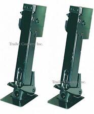 New Swing Fold Down Adjustable Cargo Utility Trailer Stabilizer Jacks Pair