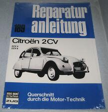 """Reparaturanleitung Citroen 2CV 2CV4 2CV6 """"Ente"""""""