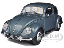 1955 VOLKSWAGEN BEETLE KAFER LIMOUSINE STRATOS SILVER 1/18 BY AUTOART 79779