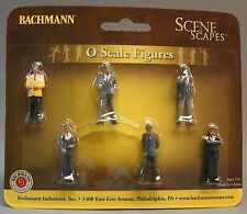 BACHMANN O GAUGE BUSINESSMEN passengers figures people train city standing 33162