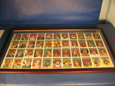 1967 Topps Who Am I? Uncut Sheet wh Coatings! Mantle, Ruth, Mays, Koufax- Framed