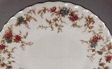 MINTON ANCESTRAL SET 2 DINNER PLATES WREATH MARK  PINK BLUE FLOWERS FLORAL EC