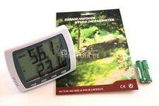 Stazione Meteo Termometro + Igrometro digitale con sonda esterna - tavolo/parete