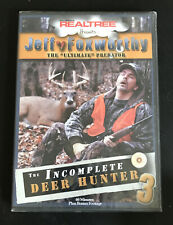 Realtree: The Incomplete Deer Hunter 3 (DVD, 2003) Jeff Foxworthy NEW/SEALED