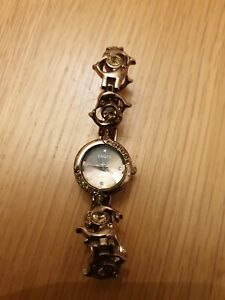 ladies Watch yaqin quartz bronze effect