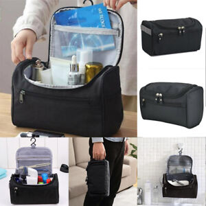 Mens Waterproof Travel Wash Bag Hanging Toiletry Organizer Shaving Cosmetic Case