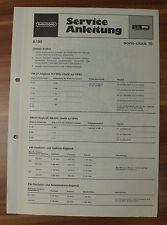 Dispositivo musicale sono-clock 70 Grundig Service Manual Istruzioni di servizio