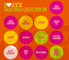CD ZYX Italo Disco Collection 24 d'Artistes Divers 3cds