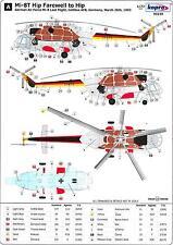"Kopro Decals 1/72 MIL Mi-8T ""HIP"" German Air Force ""Farewell to Hip"" 1993"