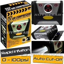 12v coche furgoneta Maypole rápidas digitales Corte Automático Bomba De Neumáticos Compresor De Aire MP7948
