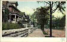 Chattanooga TN McCallie Ave Homes Detroit Publishing 11361 c1910 Postcard