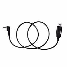 2X NKTECH USB Programming Cable Fit TYT DM-UVF10 TH-UVF9D TH-UVF9 Two Way Radio