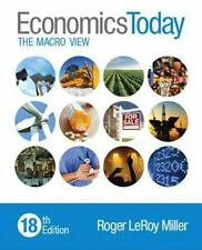 Economics Today The Macro View by Roger Miller NEW instructors edition
