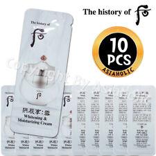 The history of Whoo Whitening & Moisturizing Cream 1ml x 10pcs (10ml) Newist Ver