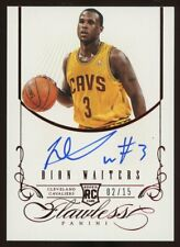 2012-13 Panini Flawless Ruby Dion Waiters RC Rookie AUTO 2/15 Cavaliers