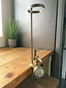ANTIQUE J BUCHANAN & CO WHISKY CLAMP DISPENSER GASKELL & CHAMBERS OPTIC PEARL