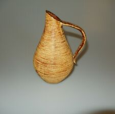 Ges Gesch Pottery Pitcher Hand Made Handarbeit Germany Mid Century