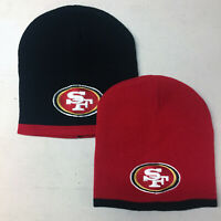 San Francisco 49ers Short Beanie Skull Cap Hat Embroidered SF